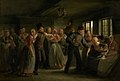 Julius Exner - A Country Dance in the Hedebo District, Zealand - KMS737 - Statens Museum for Kunst.jpg