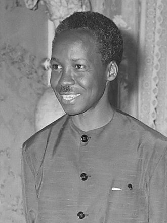 Julius Nyerere - Julius Nyerere on a visit to the Netherlands in 1965