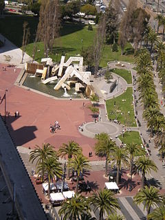Justin Herman Plaza from Steuart Tower.JPG