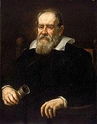 Portret van Galileo Galilei 1636