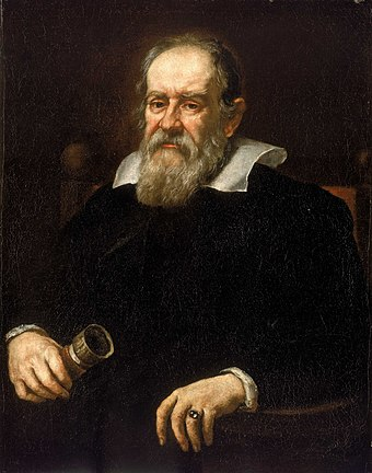 Galileo Galilei, father of modern science, physics and observational astronomy. Justus Sustermans - Portrait of Galileo Galilei, 1636.jpg