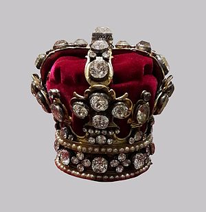 Crown of Queen Maria Josepha - Crown of Queen Maria Josepha