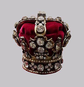 Crown of Queen Maria Josepha - Crown of Queen Maria Josepha
