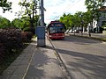 Közlekedési múzeum trolleybus stop.jpg