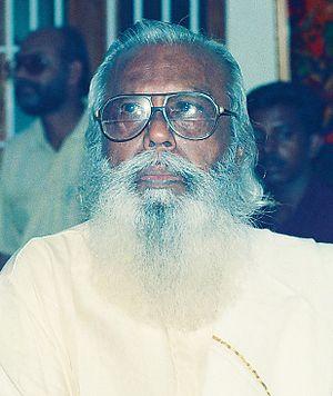 Mathrubhumi Literary Award - Image: KERALA ARTIST M.V.Devan CNV000028