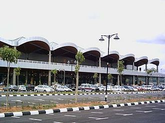 Kuching International Airport - The Terminal Building
