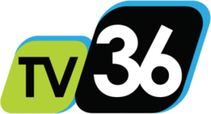 "KICU-TV - KICU logo under the ""TV36"" brand, used from September 2007 to April 25, 2016."