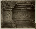 KITLV 28327 - Isidore van Kinsbergen - Relief on the first gallery at the front of Panataran, Kediri - 1867-02-1867-06.tif