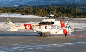Helikopter Service Flight 451 - A similar Super Puma operated by Helikopter Service