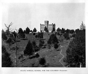 Kentucky State University - Kentucky State Industrial College for Colored Persons campus in 1898