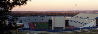 Memorial Stadium (University of Kansas) - Image: Kansas Memorial Stadium