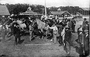 Kansas State Fair - Kansas State Fair, 1906