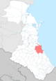 Karabudakhkentsky district locator map.png
