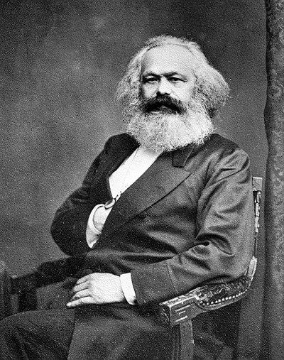 Karl Marx, German philosopher, economist, historian, sociologist, political theorist and journalist