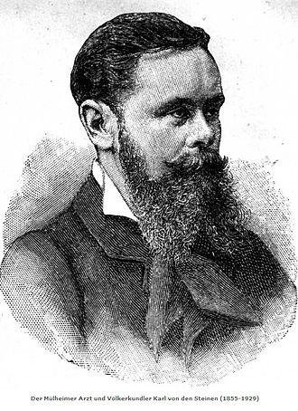 Karl von den Steinen - Karl von den Steinen (Stadtarchiv Mülheim).