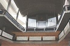 Karlsruhe, die Orgel der Stadtkirche.JPG
