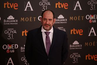Karra Elejalde - Karra Elejalde in 2017 during 31st Goya Awards