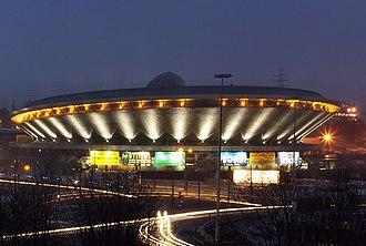 Sport in Poland - Popular Spodek sport's complex in Katowice