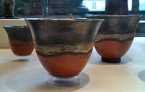 Kerma culture - Vessels from Sai island, Kerma culture. On display at the Musée du Louvre.