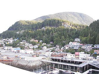Ketchikan from Tongass Narrows, Alaska 9.jpg