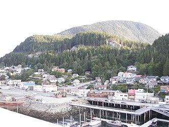 Ketchikan from Tongass Narrows, Alaska 9.jpg
