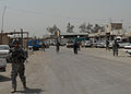 Keystone Soldiers, Iraqi police focus on Taji market security DVIDS169971.jpg