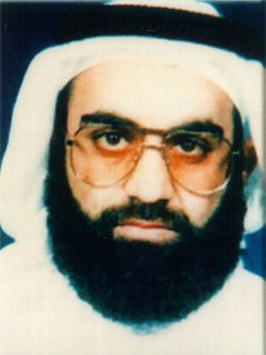 Khalid Sheikh Mohammed militant who was allegedly a member of Osama bin Ladens al-Qaeda