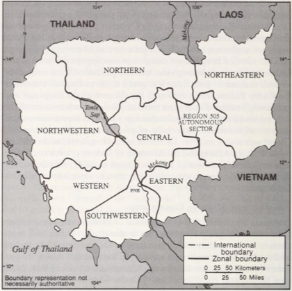 Khmer Rouge Administrative Zones for Democratic Kampuchea, 1975-78.png