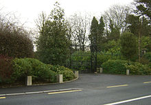 Kilcullen Castlemartin Estate Grand Gate BW PD.JPG