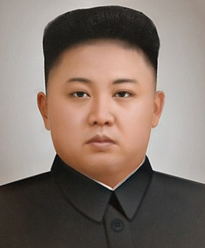 Censorship in North Korea - Photorealistic sketch of Kim Jong-un