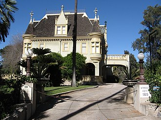Hell Night - The film was shot on location at Kimberly Crest Mansion