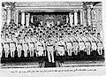 King Farouk & Ibrahim Atallah with Military academy graduates 1941.jpg
