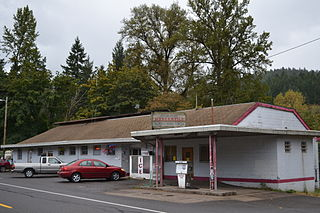Dorena, Oregon Unincorporated community in Oregon, United States
