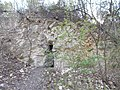 Kis-Sváb Hill Protection Area. Small cave on north side. - Budapest.JPG