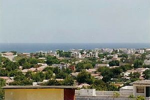 English: Kismaayo City, Somalia