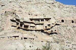 Kizil Caves - Kizil Caves on the edge of the  Tarim Basin.