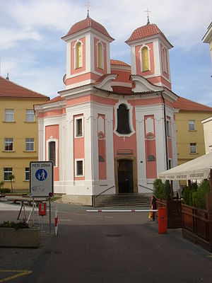 Kladno District - Image: Kladno CZ St Florian chapel front view 028
