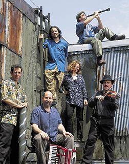 The Klezmatics American klezmer music group