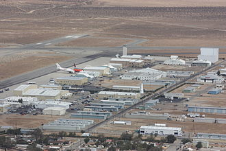 Mojave Air and Space Port - Mojave in 2009