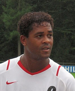 Patrick Kluivert Dutch association football player and manager