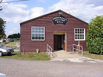 Knodishall - Knodishall Village Hall