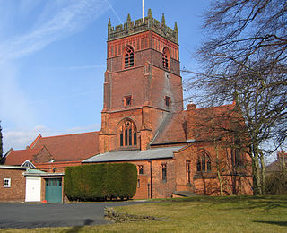 St Cross Church, Knutsford Church in Cheshire, England