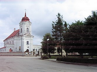 Choroszcz - Church of Sts. St. John the Baptist and Stephen in Choroszcz