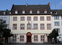Das Haus Metternich in Koblenz (Quelle: Wikimedia)