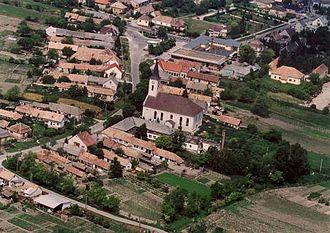 Kocs - Aerial view