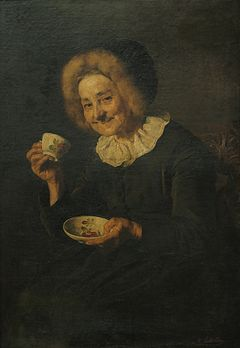 Slika:Kofetarica (Coffee drinker; National Gallery of Slovenia, y. 1888).jpg