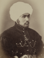 Kokand Khan and His Sons. Seid Mukhamed Nasretdin Beg (Oldest Son of the Kokand Khan) WDL10719 (cropped).png