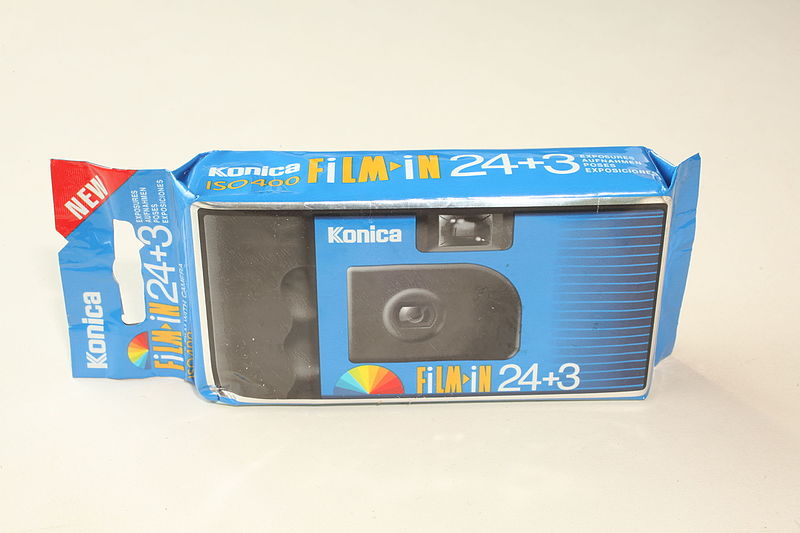 how to develop film disposable camera