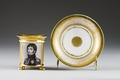 Kopp med fat. Paris - Hallwylska museet - 87117.tif