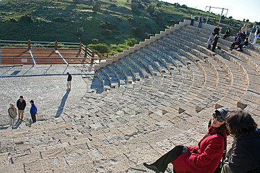 Kourion theatre northwest 2010.jpg